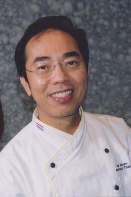 Chef Chai Siriyarn of Thai Marnee Restaurant in San Francisco.